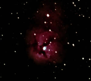 M - 20 The Trifid Nebula